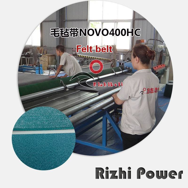 NOVO40 NOVE BELT 400HC Double Side Felt Conveyor Belt