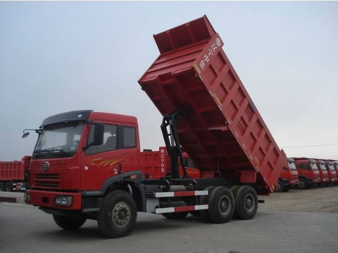 Faw 6*4 16 ton tipper truck for sale