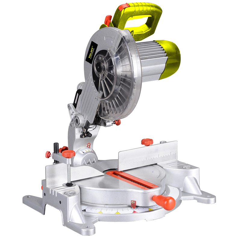 TOLHIT 255mm Long Life Induction Motor Compound Miter Saw