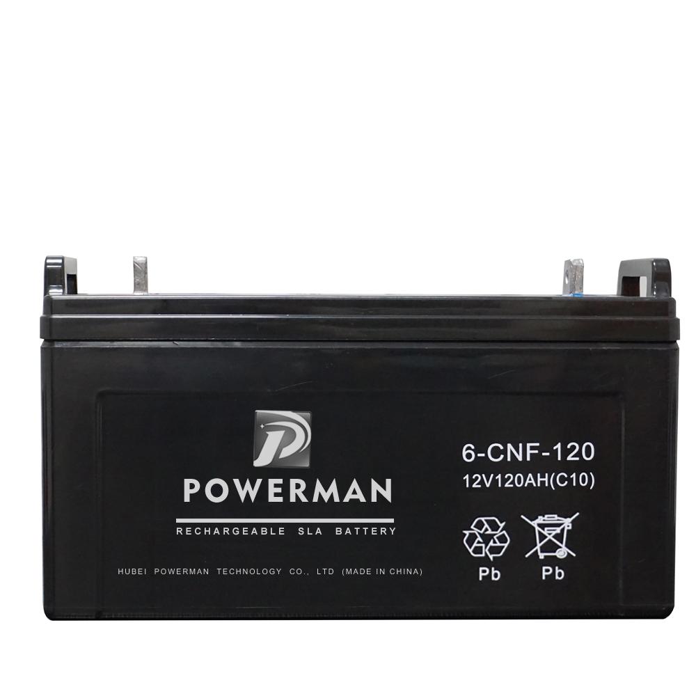 12V 120Ah Lead Acid UPS VRLA Storage Solar Batter