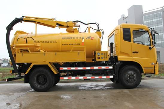 Sewage suction truck Sewer suction truck