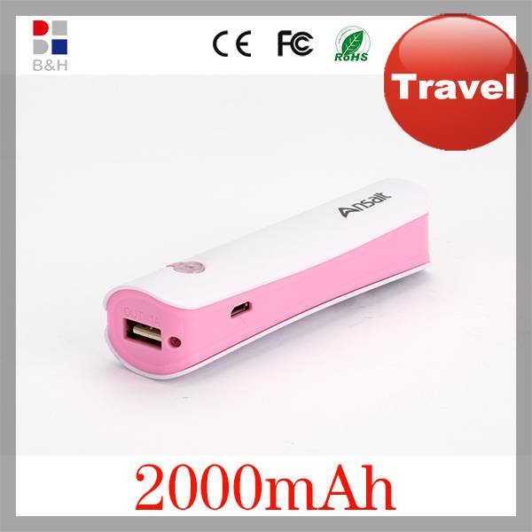 2014 popular newest high capacity portable external cell phone battery