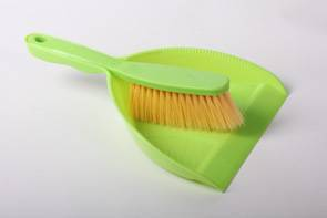 HQ0777 household popular plastic dustpan with brush/cleaning brush and dustpan set