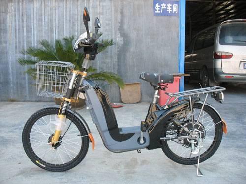 Powerful electric bike (E-TDL02A,black)