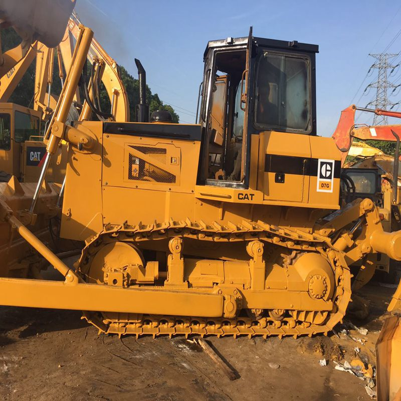 used caterpillar d7g bulldozer of cat bulldozer with ripper