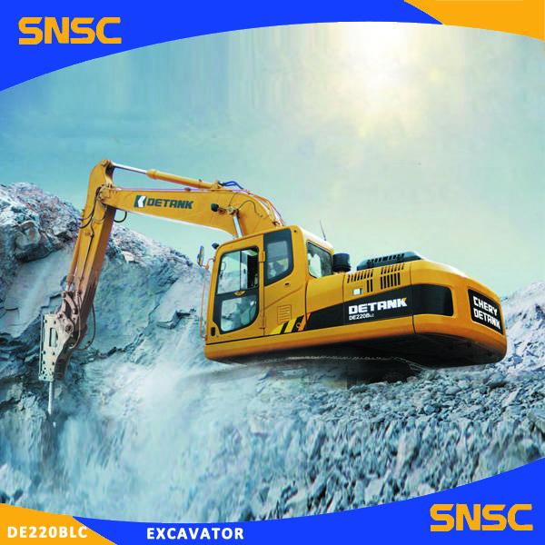 Chery New 22t Swamp Excavator/ CE Crawler Excavator