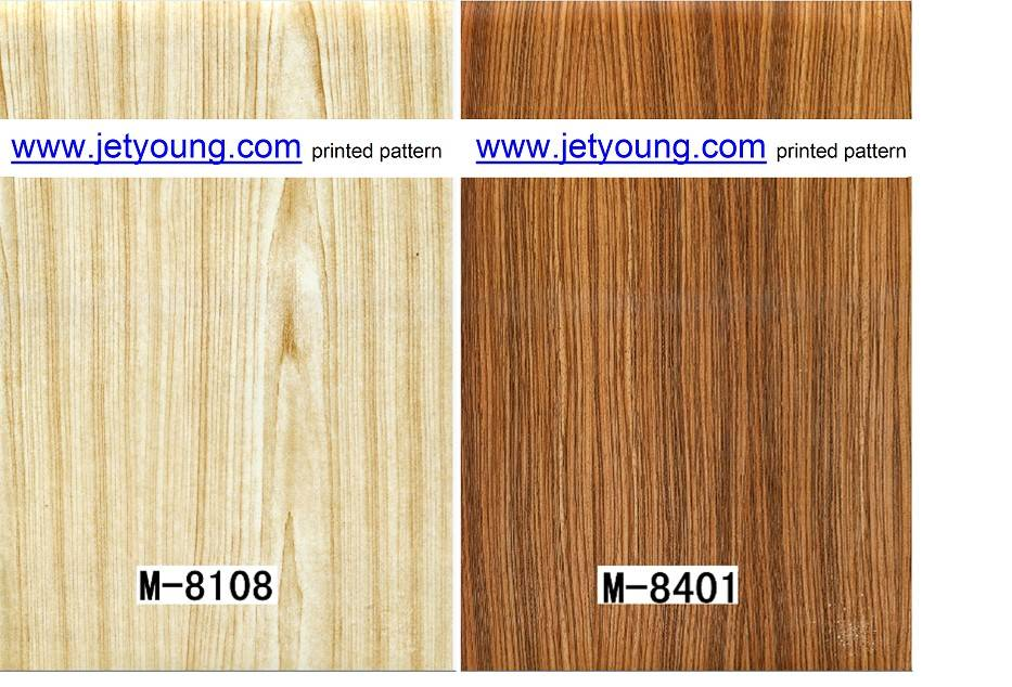 Water Transfer Wooden Printed Film Hydro Graphic Film Water Transfer Printed Jetyoung