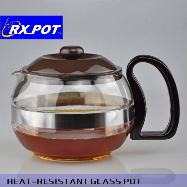 Promotional gift heat-resistant glass coffee pot
