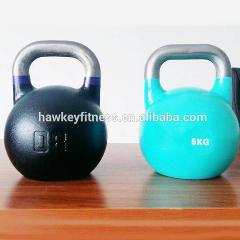 crossfit cast iron kettlebell for bodybuilding and fitness