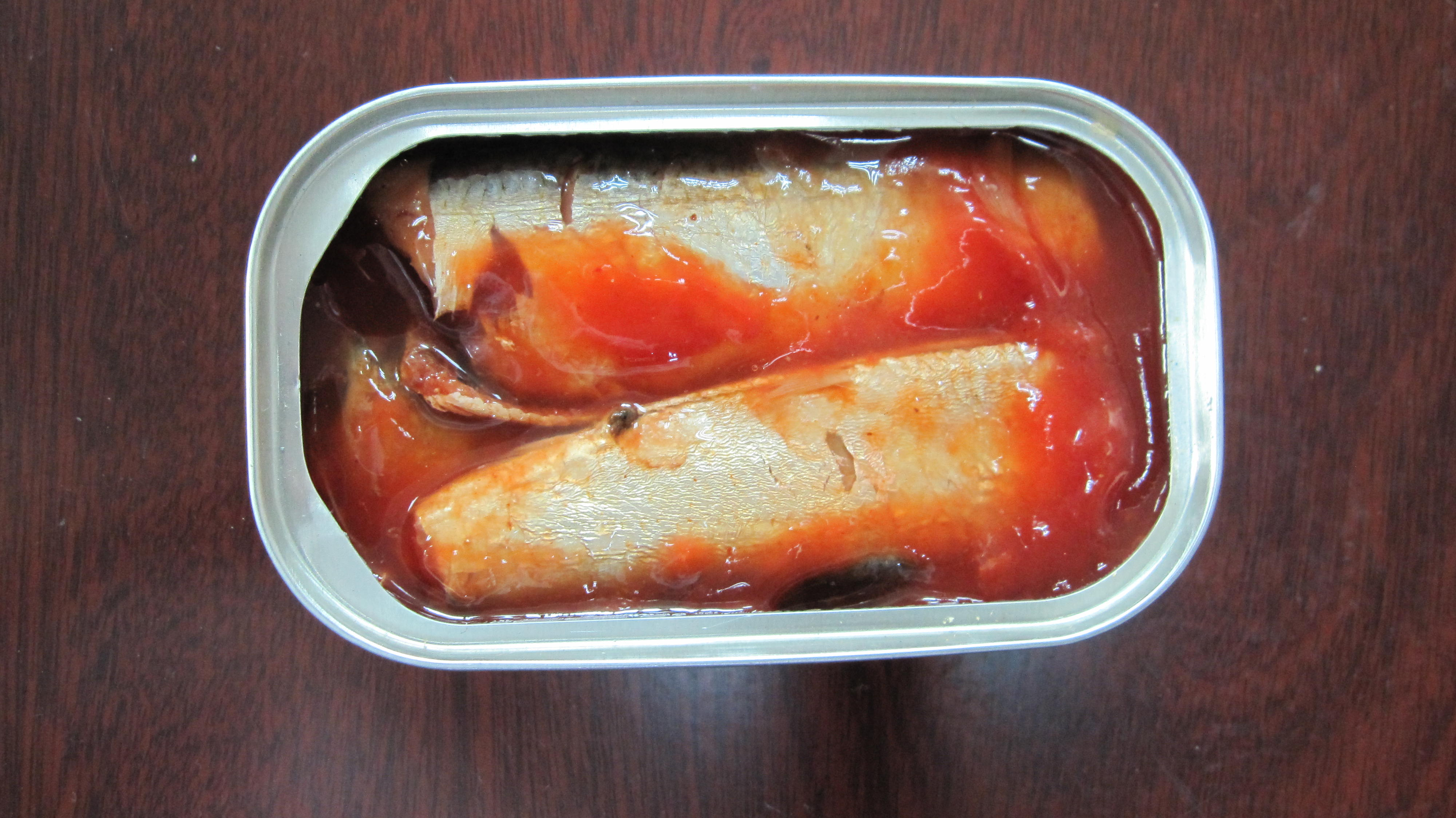 311#, 125g/90g, hot sale on promote canned sardine in tomato sauce, stock good quality, low cheap ni