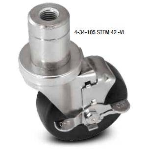 34 Series Adjustable Load Height Casters