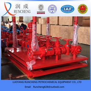 petroleum machinery ASME pressure vessel nozzle test manifolds
