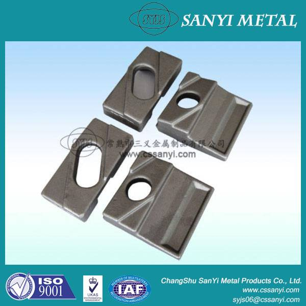 Clamping rail railway parts railway clamping plate railway products chinese supplier rail clamp
