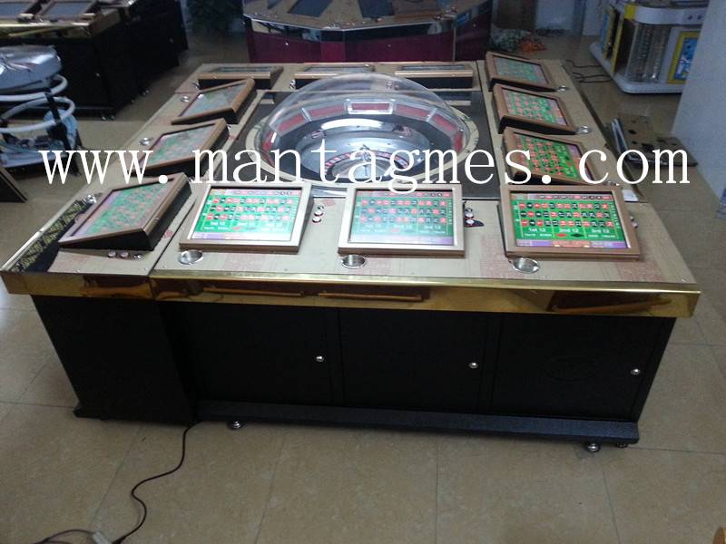 12 Player Roulette Game Machine with UPS Hot Sale in Trinidad and Tobago