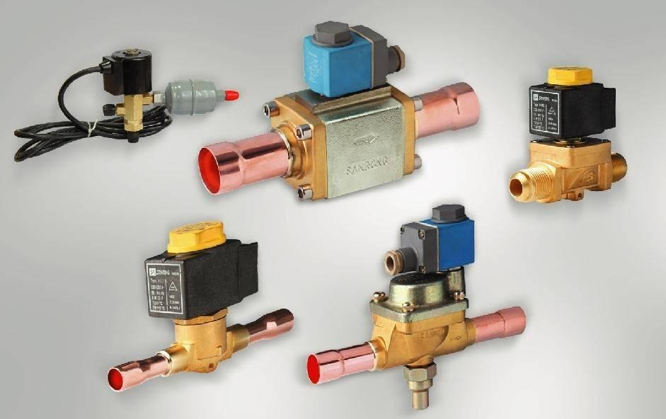 solenoid valve passed CE