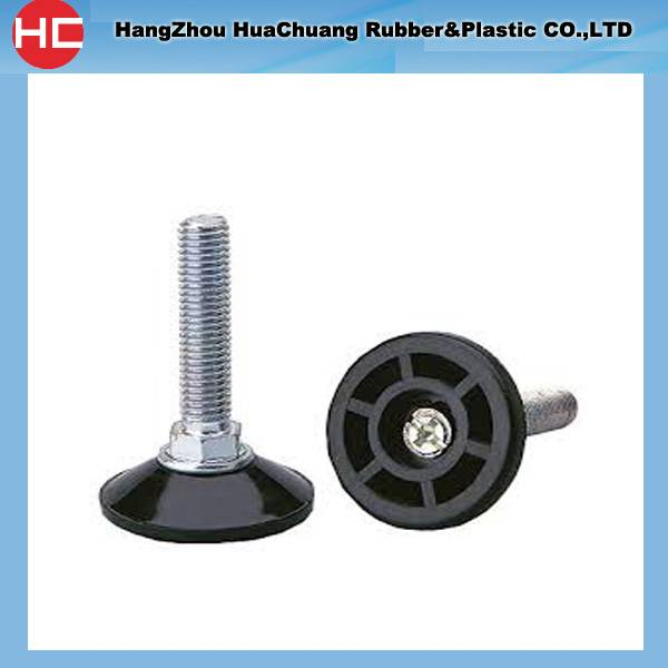 Supply screw leveling feet