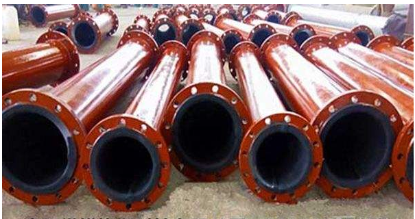 plastic&rubber lined desulfurization pipe for power plant