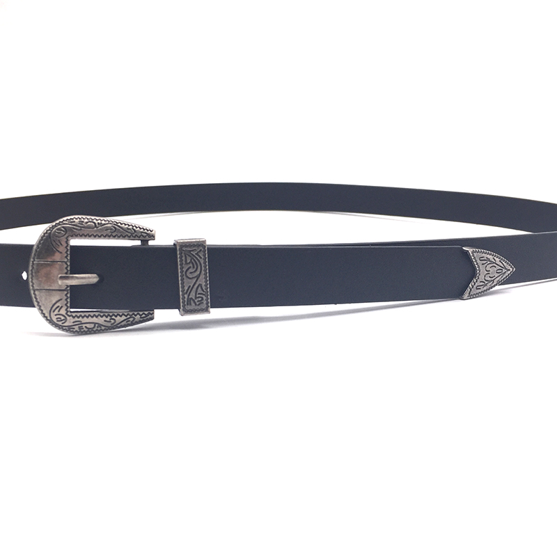 Designer Reversible Zinc Alloy Pin Buckle Belt /smooth Black Belts Leather Men Wholesale