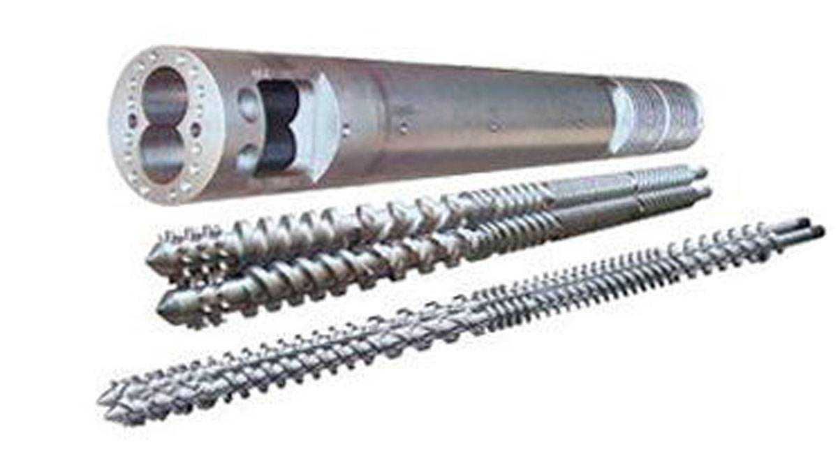Bimetallic Screws and Barrel