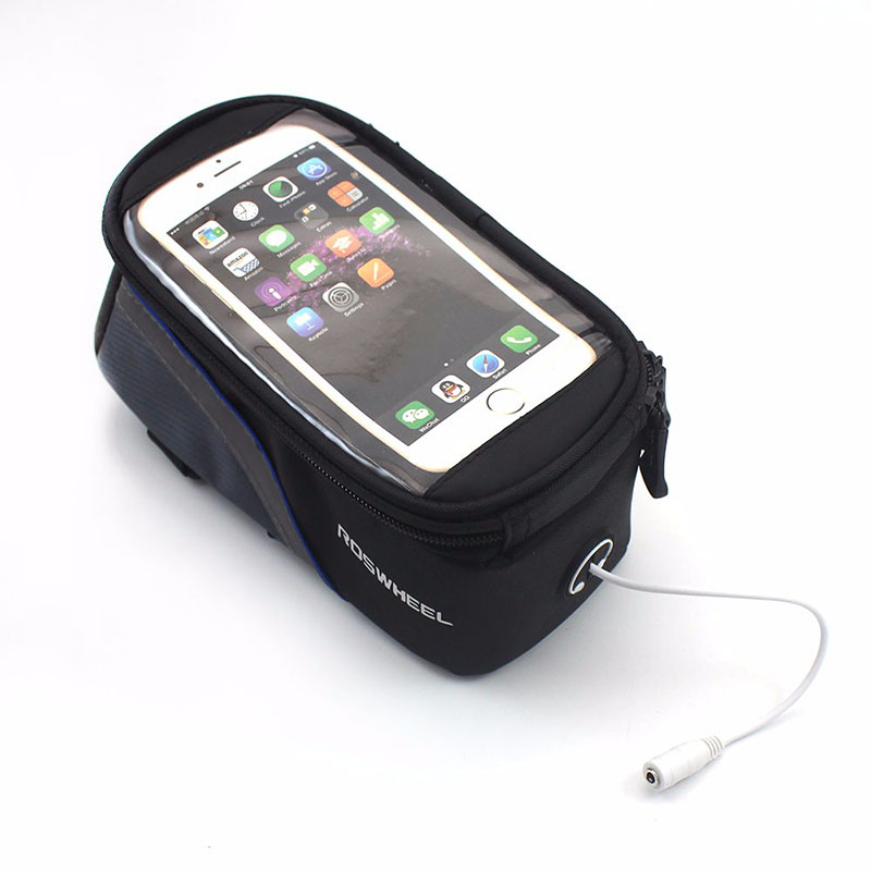2017 New Ruian suitcase NO.BBC-005 Bicycle Frame Front Tube Mobile Phone Bag