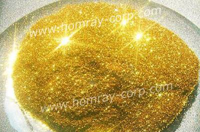Gold powder manufacturer for metallic pigment