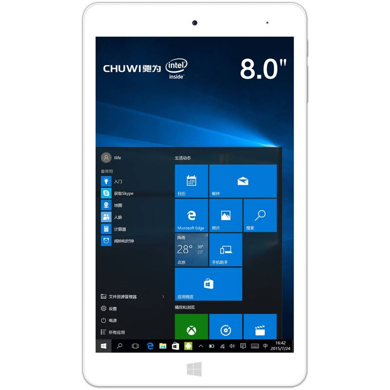 Original CHUWI Hi8pro Dual OS Tablet PC Windows Tablet Android Intel Qual Core 8inch Tablet IPS Scre