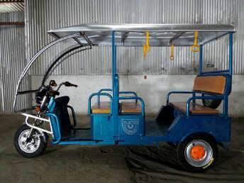 Electric Three Wheeler E Rickshaw Auto Rickshaw