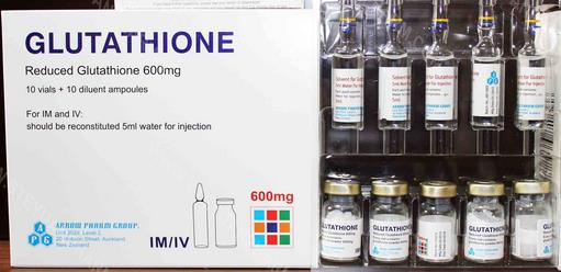 Glutathione injection for whitening Skin 600mg 1500mg