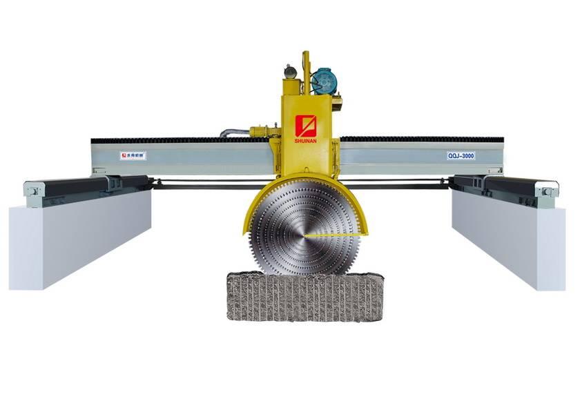 Multi blade block cutter, Multi blade stone cutting machine, granite cutting machine, Multi blade cu