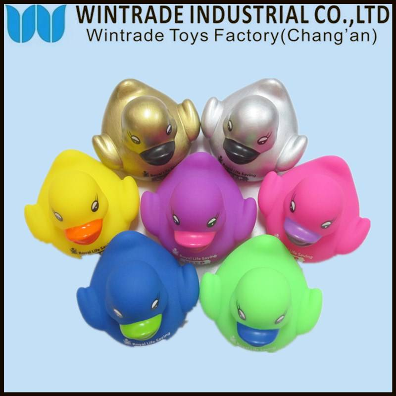 floating rubber bath duck baby toy for kids