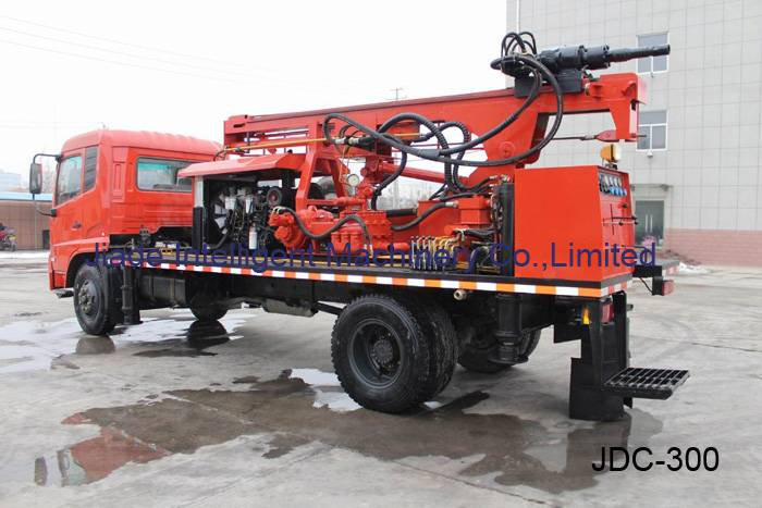 water drilling rigs sale, truck mounted drill JDC300