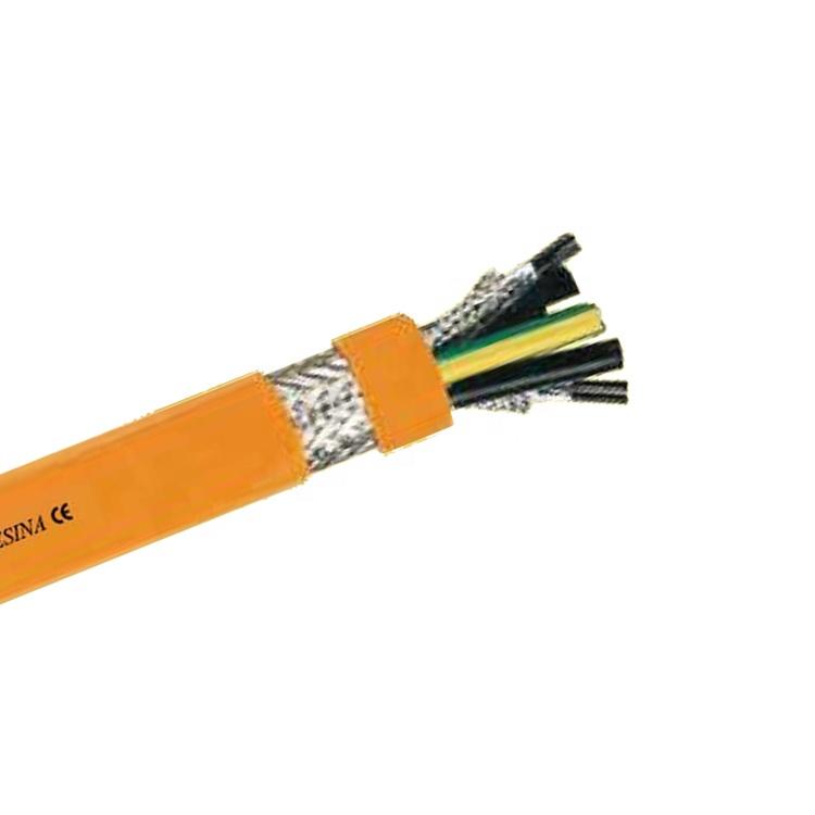 0.6/1KV PVC jacket Shielded Servo motor cable ANSK8573