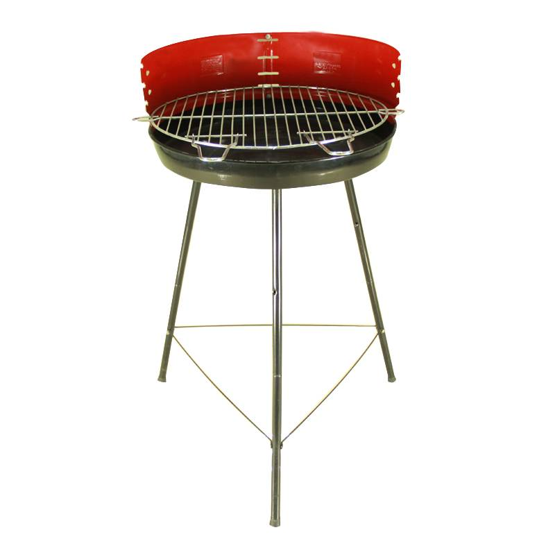 outdoor beach charcoal smokey bbq grill
