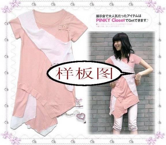 japanese fashion lady tee