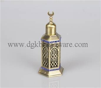 12ml zinc alloy perfume bottle empty essential oil bottle
