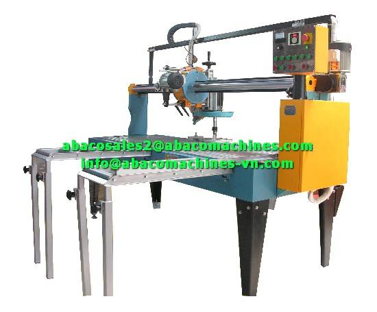 MARBLE GRANITE STONE SLAB SAW CUTTER CUTTING MACHINE - ABACO -