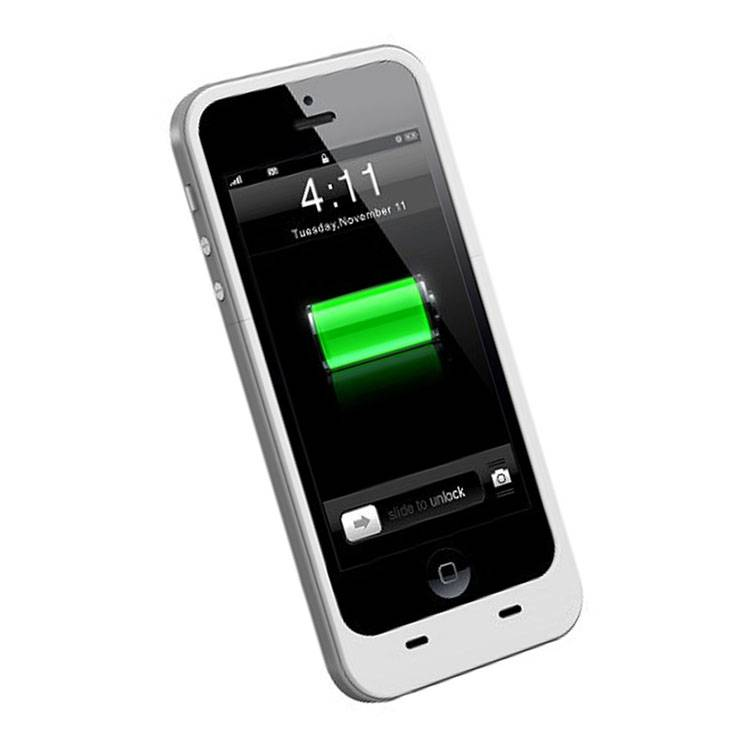 2000mah External Rechargeable Backup Battery Packs Power Charger Pack for iPhone 5 5S
