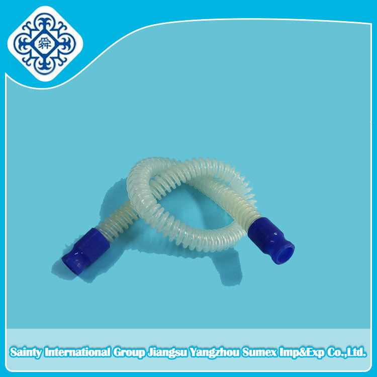 Silicone Corrugated Breathing Circuit tube(reusable)