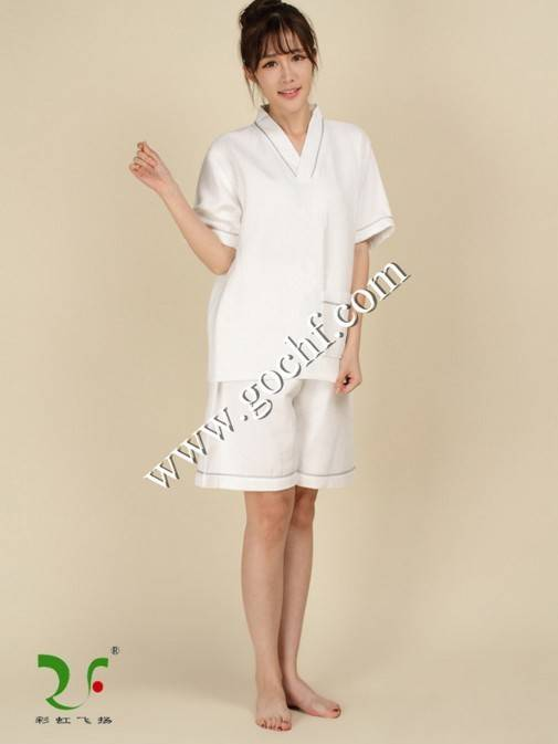 wholesale breathable waffle sauna shorts factory and supplier