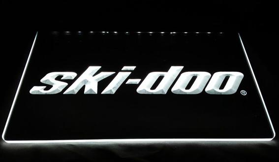 LS938-W-ski-doo-Snowmobiles-Display-NEW-Neon-Light-Sign