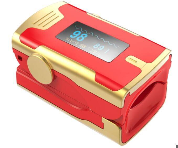 New introduction-OLED display fingertip pulse oximeter