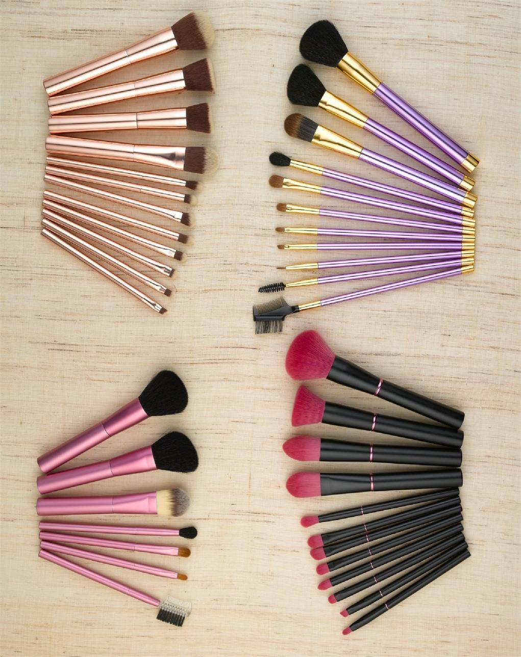 Professional Makeup Brush Set  Makeup Brushes BESTOPE Premium Cosmetic Makeup Brush Set Synthetic ha