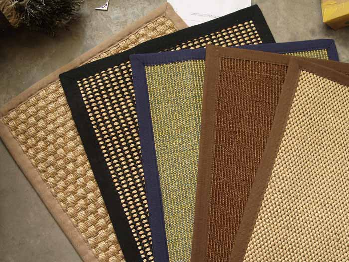 Nature Latex backing woven high quality sisal carpet,sisal rug,