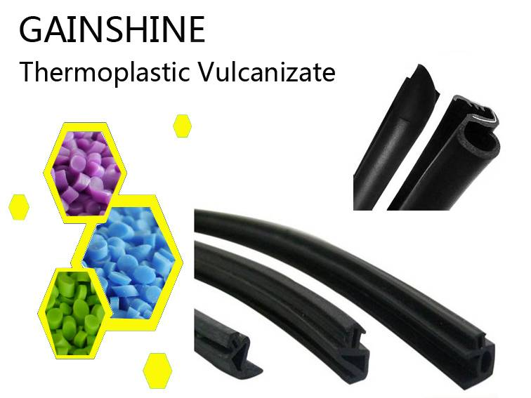 Anti-Aging Thermoplastic Vulcanizate for Weatherstrip