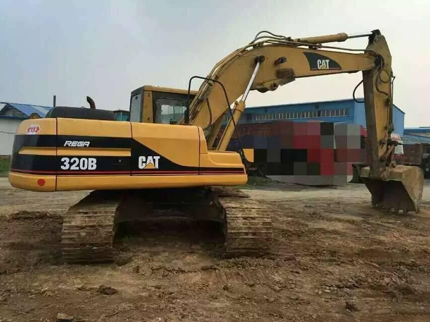 Used Japan Original CAT 320B Crawler Excavator