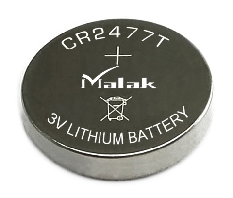 High capacity CR2477 supplier lithium button cell battery