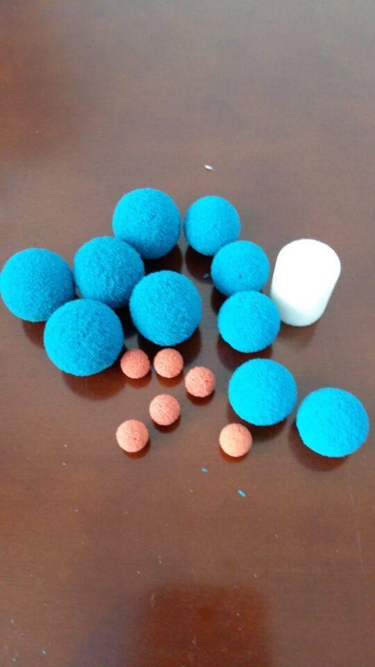 Sponge ball for pipe cleaning,sponge foam ball
