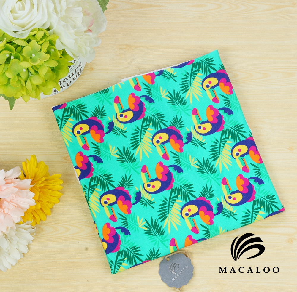 4 way stretch digital printed 95 cotton 5 spandex fabric