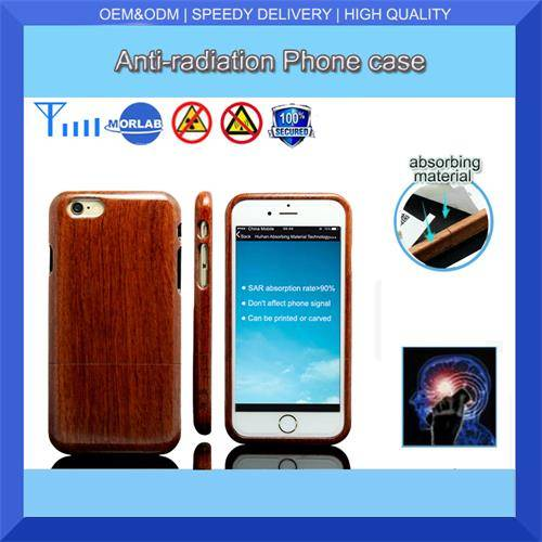 wood phone case anti-radiation cell phone cover for iphone6s