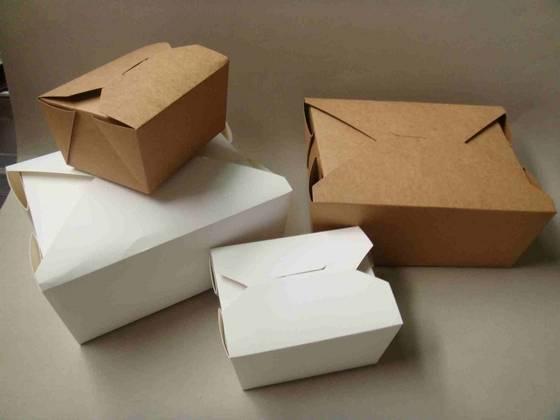 kraft take away box